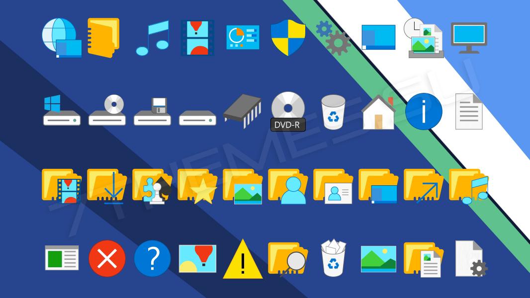 Пакеты Иконок Для 7tsp Gui