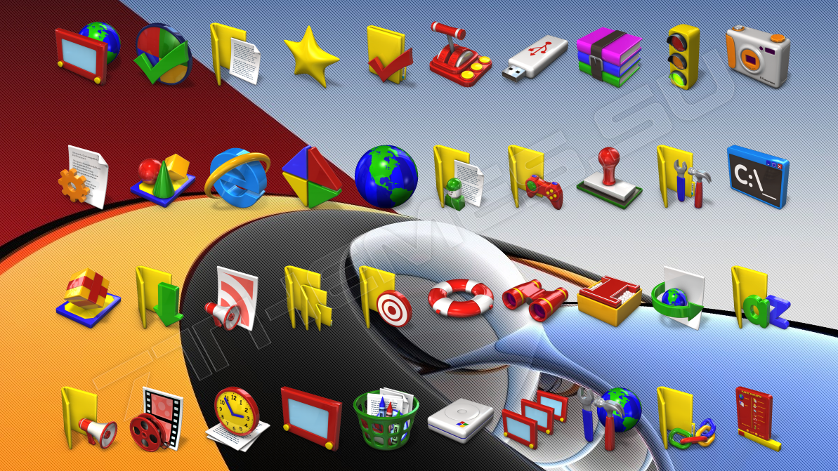 Иконки для IconPackager: 7themes.su/stuff/ikons_for_windows/icons_iconpackager/3-1
