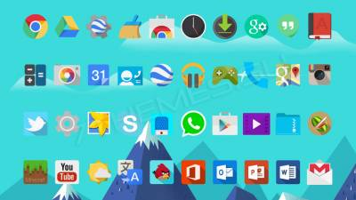 Android L Flat