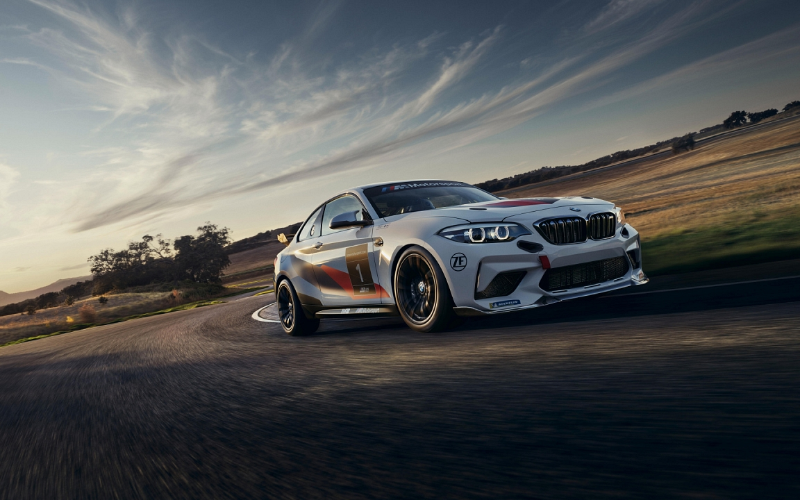 Обои BMW M2 CS Racing (1152x720)