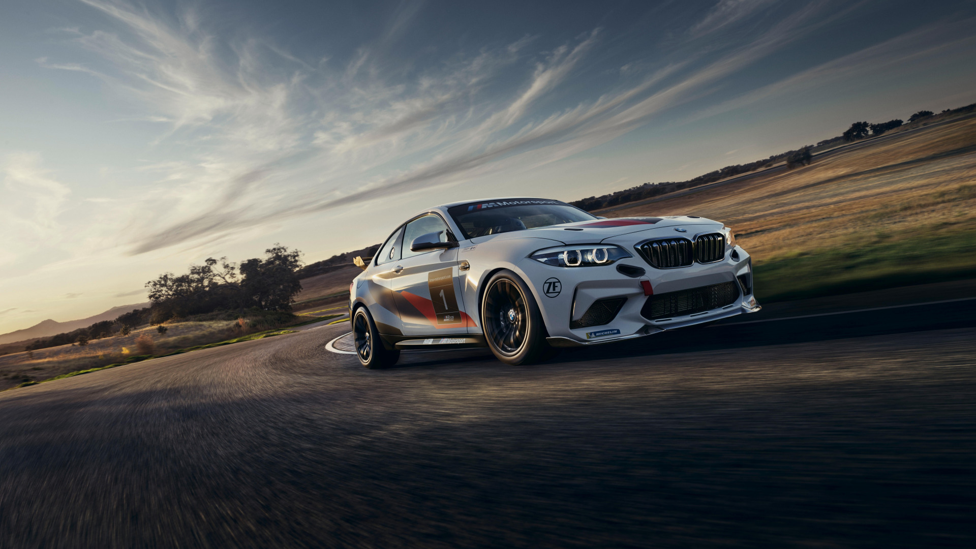 Обои BMW M2 CS Racing (1920x1080)