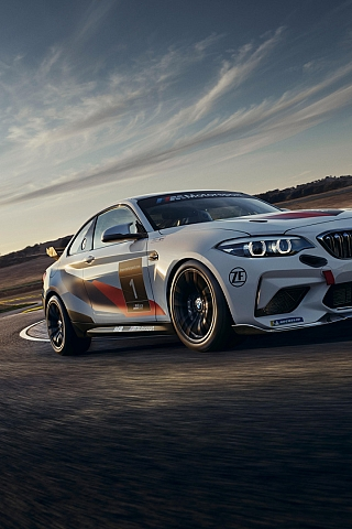 Обои BMW M2 CS Racing (320x480)