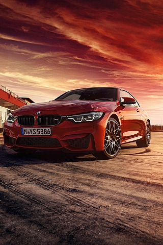 Обои BMW M4 Coupe (320x480)