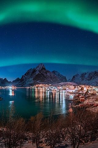 Обои Норвегия (320x480)