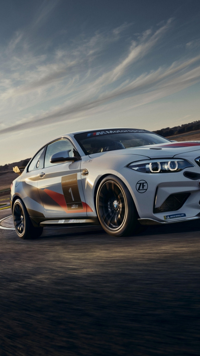Обои BMW M2 CS Racing (640x1136)